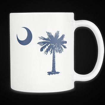 Palmetto Moon South Carolina Mug Blue