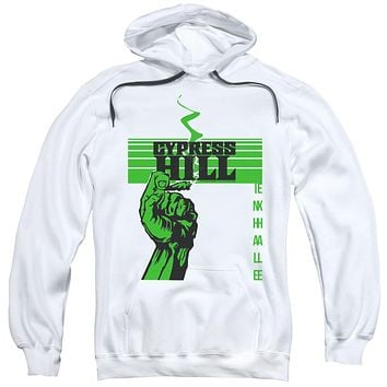 Cypress Hill Hoodie Inhale Exhale White Hoody