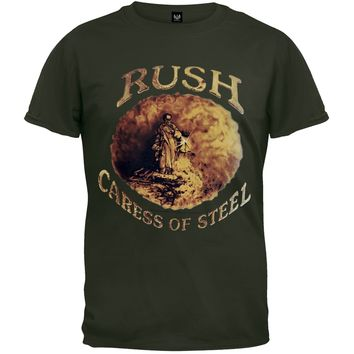 Rush - Caress Of Steel Overdye T-Shirt - Small