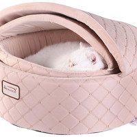 EPIC SPORTS Playground > Cat Beds > E73321 Armarkat Semi-Covered Cat Beds - C33HFS/FS