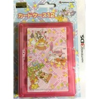 Pokemon Center 2014 Nintendo 3DS/DSiLL/DSi/DS Lite Sylveon Eevee Fennekin & Friends Game Cartridge Storage Case