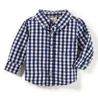 Peek Farfield Check Woven Shirt (Baby Boys) | Nordstrom