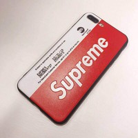Supreme Red Mobile Phone Case for iPhone