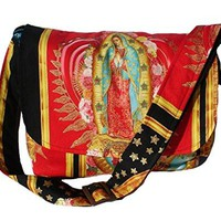 Hemet Guadalupe Virgin Mexican Messenger Bag II