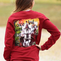 Sassy Frass I Once Was Lost But Now I'm Found Church Christian Long Sleeve Bright Girlie T Shirt