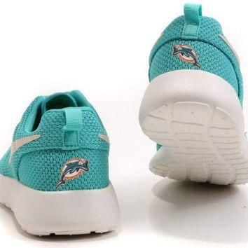 Nike Miami Dolphins London Olympics Aqua Green Shoes
