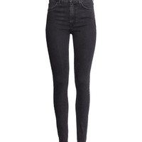 H&M - Jeans High waist - Black - Ladies