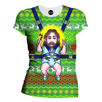 Jesus Christmas Womens T-Shirt
