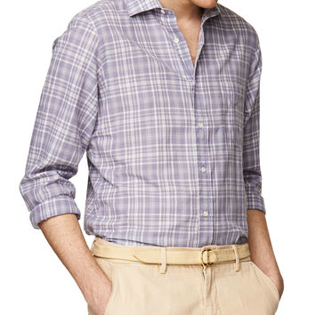 Luxé Madras Spread E-Z Button Down
