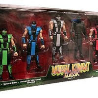"Mortal Kombat Klassic Mortal Kombat Klassic 4"" Action Figure 6-Pack"