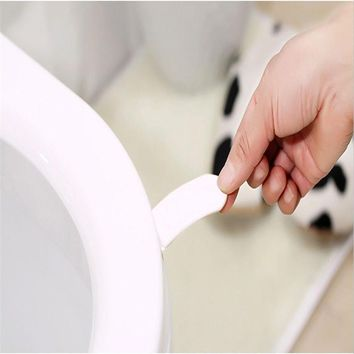 Toilet Seat Lifter Handle Avoid Touching Hygienic Clean Carried Along For Public Restrooms And Home 0519