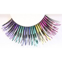 Zinkcolor Colorful Foil False Eyelashes C979 Dance Halloween Costume