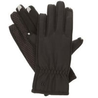Isotoner Womens Faux Fur Lined Touch Screen Everyday Gloves