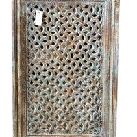 India Antique Window Jharokha Hand Carved Teak Classic Window Frame Indian Architectural