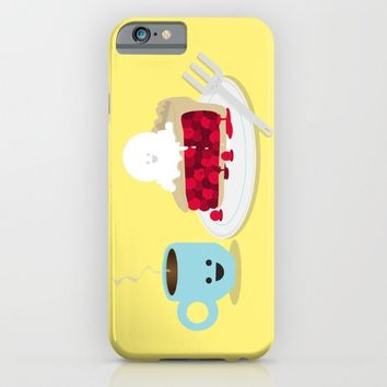 Coffee and Pie iPhone & iPod Case by Terry Irwin