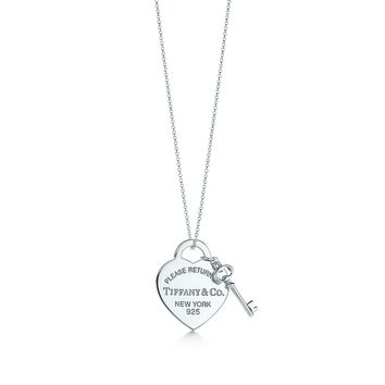 Tiffany & Co. - Return to Tiffany®:Heart Tag with Key Pendant