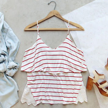 The Boyfriend Stripe Tank