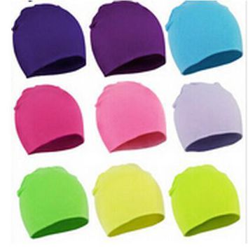 New Spring Warm Cotton Baby Hat Girl Boy Toddler Infant Kids Caps Brand Candy Color Lovely Baby Beanies Accessories