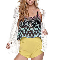 Kirra Shift Cropped Tribal Tank at PacSun.com