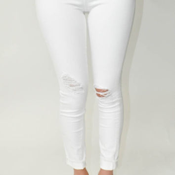 Articles of Society Sarah Skinny Jeans - Whitehall