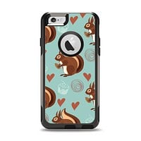 The Vector Love & Nuts Squirrel Apple iPhone 6 Otterbox Commuter Case Skin Set