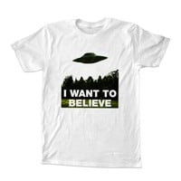 I Want To Believe For T-Shirt Unisex Adults size S-2XL