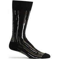 Mens Stripe Overlap Sock
