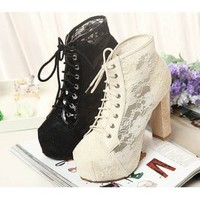 Lace Ankle Boot