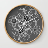 "Portugal1 Wall Clock by Ana Lisa Luças ""Boardisart"""