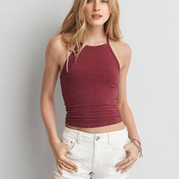 AEO FIRST ESSENTIALS SOFT & SEXY HI-NECK TANK
