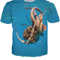 Full Octopus Tee by Paulphin