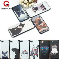 GerTong Pattern Phone Cases For iPhone 6 6s 7 8 Plus X 5 5s SE Funny Cartoon Pets