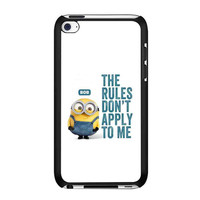 Minion Bob Quote iPod Touch 4th case