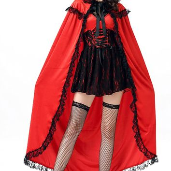 Atomic Deluxe Little Red Riding Hood Inspired Costume