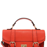 In the Bag Coral Red Purse