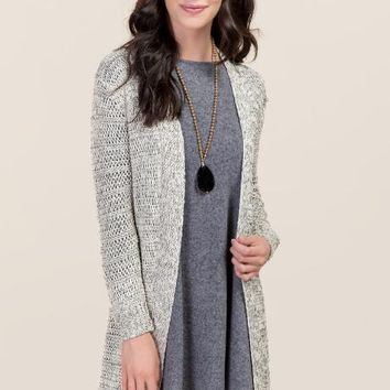 Audrey Open Stitch Cardigan