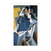 Figure of a Woman, 1917, Paintings