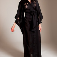 Carine Gilson: Florence Long Kimono at Nancy Meyer