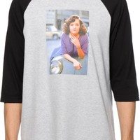 Back To The Hundreds Lorraine Car Baseball T-Shirt