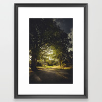 On the road again Framed Art Print by HappyMelvin