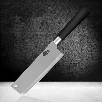 MIKALA Stainless Steel Small Kitchen Slicing Knife Fruit Vegetable Meat Multifunctional Cutting Knives Cleaver