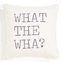 Levtex 'What the Wha?' Pillow - Ivory