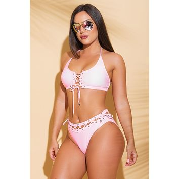 Bermuda Paradise Two Piece Swimsuit