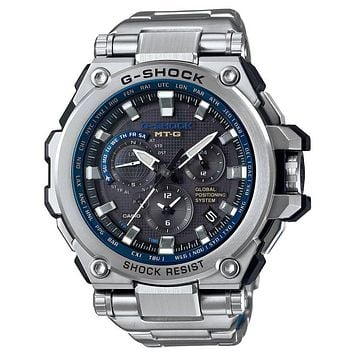 Casio G-Shock MT-G - Solar - GPS - Atomic - Stainless Steel - 200m