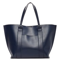 Sole Society Raven Basic Tote W/ Pocket