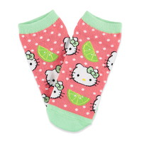 Watermelon Hello Kitty Ankle Socks