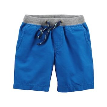 Toddler Boy Carter's Blue Pull-On Shorts | null