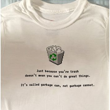"""Garbage Can"" Tee"