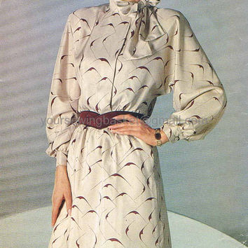 Dolman Sleeves Dress Pattern, Vintage Dress Pattern, See & Sew 5131 - Unused UNCUT, Vintage Dress, dolman dress, Dolman Top, Dolman Sleeve