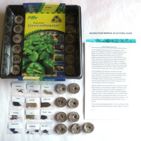 HERB GARDEN Grow Kit / Grow fresh herbs for cooking / Start a ORGANIC Herb Garden